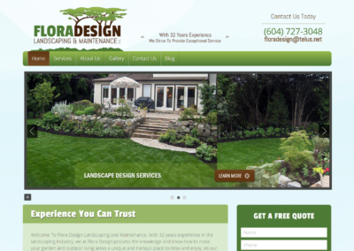 Flora Design Landscaping