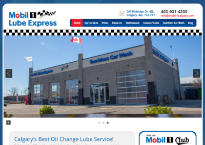 Mobil 1 Lube Express Calgary